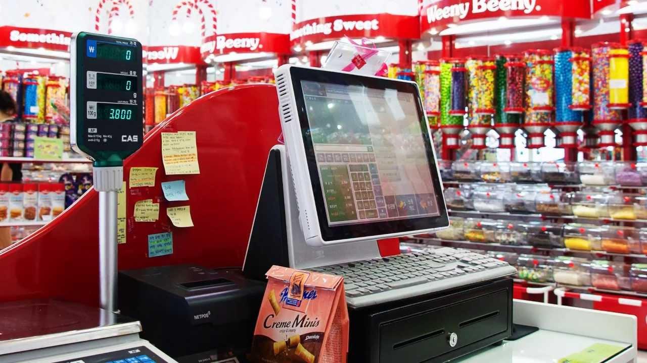 Retail Mini Market Pos System Ecsoft Sdn Bhd Grocery